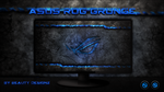 ASUS ROG Grunge Blue - By BeautyDesignz by BeautyDesignz