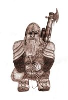 Dwarven Sharpshooter by tepithebest