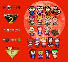 Mother cronology/generations by luciano6254