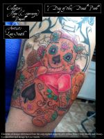 Day of the Dead Pooh 3 by LeviSmithArt