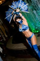Princess Kitana, Mortal Kombat by EminenceRain