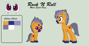 Rock N Roll .:Ref:. by TinyWolfy