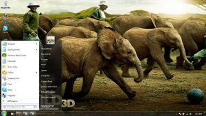 Born to be Wild Windows 7 themes by windowsthemes