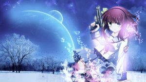 Wallpaper Angel Beats FULL HD by Sl4ifer