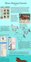horse colouring tuto part 1. by Catcorpse