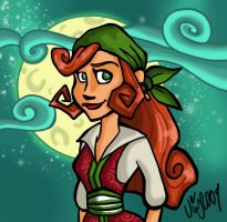Tales of Monkey Island Elaine by Shmivv