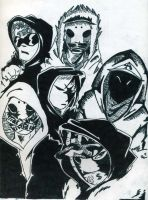 Hollywood Undead by Wyldfire7