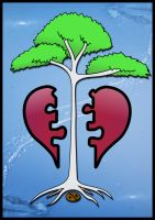 Tree of hearts by game-flea