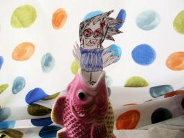 ACK TEH FISH by doll-fin-chick