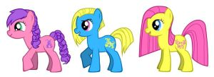 MLP FIM G1 Best Friends Baby Ponies by kaoshoneybun