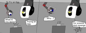 Aperture Alliance: To Fry an Egg by Poulterghiest