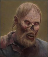 Zombie Painting 7 Day #322 by AngelGanev