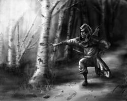 Faroth the Hunter by Such-A-Dreamer