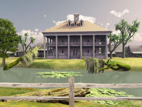 The Plantation by BrokenWings3D