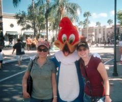 Me and Woody Woodpecker by travelg