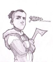 Sokka by daughterofthestars