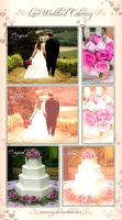 Love Wedding PSD Coloring by Romenig