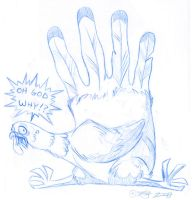 Hand Turkey by tarkheki