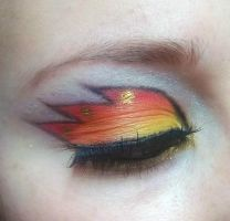 Fire Eyes by ColourByMakeup