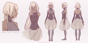 Cereus: Character Sheet by DoraIIngrid