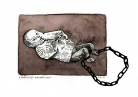 new born child-new born slave? by kriky