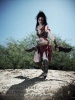 Female Kratos Cosplay by CLeigh-Cosplay