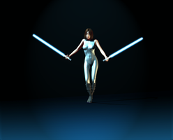 Female Jedi by Cactusman125