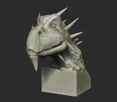 Dragon Sculpt by Bamboo-Learning