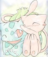 Mew and Bulbasaur