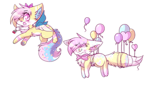 Sparkle Sissys by Fayven