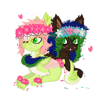 .:CONTEST-ENTRY:.Flor's special somepony by Nerdeerific