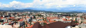 Slovenia Panorama by limitlis