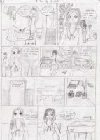 My attempt to manga -page1- by krm3dayana