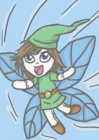 Fairy Boy Leon by Inky-Doodle