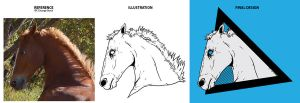 Horse Head Process by Karbacca