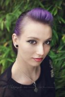 Purple Hair by Estelle-Photographie