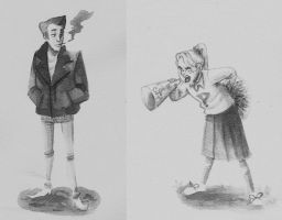 The Greaser and the Cheerleader by DeathByBacon