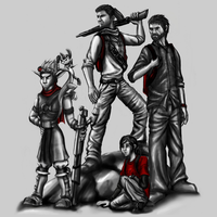 Naughty Dog Heroes by Ai-Don