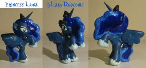 MLP: FIM Custom Blind Bag Luna Nightmare Night by LadyDraconic