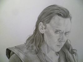 Loki (Tom Hiddleston) by EnigmaticDoodle
