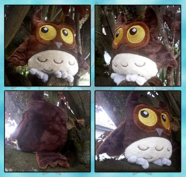 Owl Plush by fishiewishes