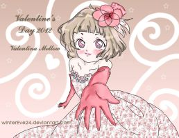 Valentina Mellow Happy Valentine's day in advance by winterEve24