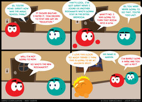 SC140 - Meet Marvin 10 by simpleCOMICS