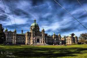 HDR Parliment building by ackbad