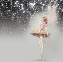 Magic And Sparkle Fairy by CarolineVos