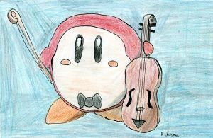 Waddle Dee with Violin by DrChrisman