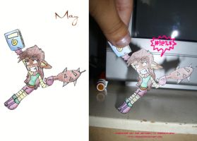 May paper child by Bgm94