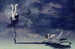 VW: Swan Lake by toughtink