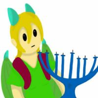 Happy Hanukkah! (my first GIF) by MelodyoftheNightFury