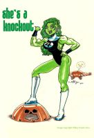 She Hulk by mikey-c